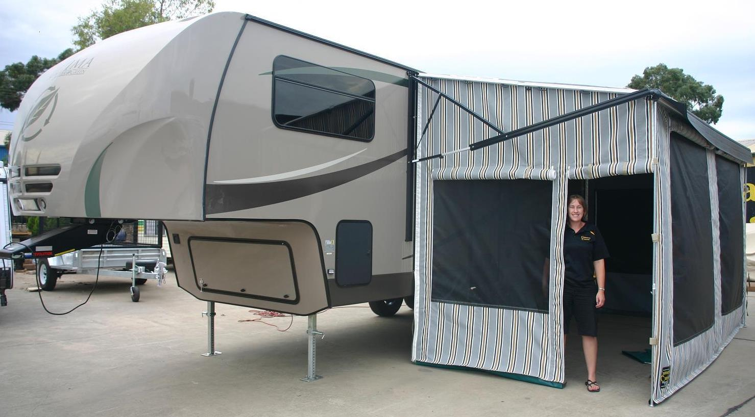 Cameron Campers And Cameron Canvas Camper Trailers