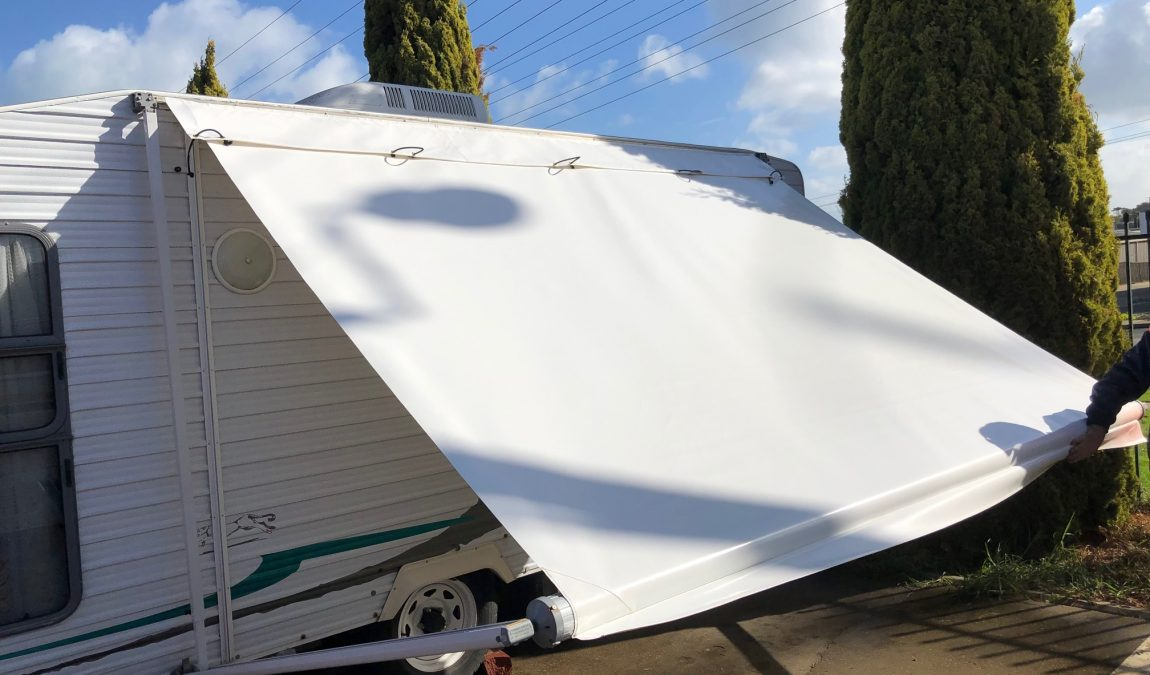 Caravan Awning Skin And Hood Cameron Campers And Cameron